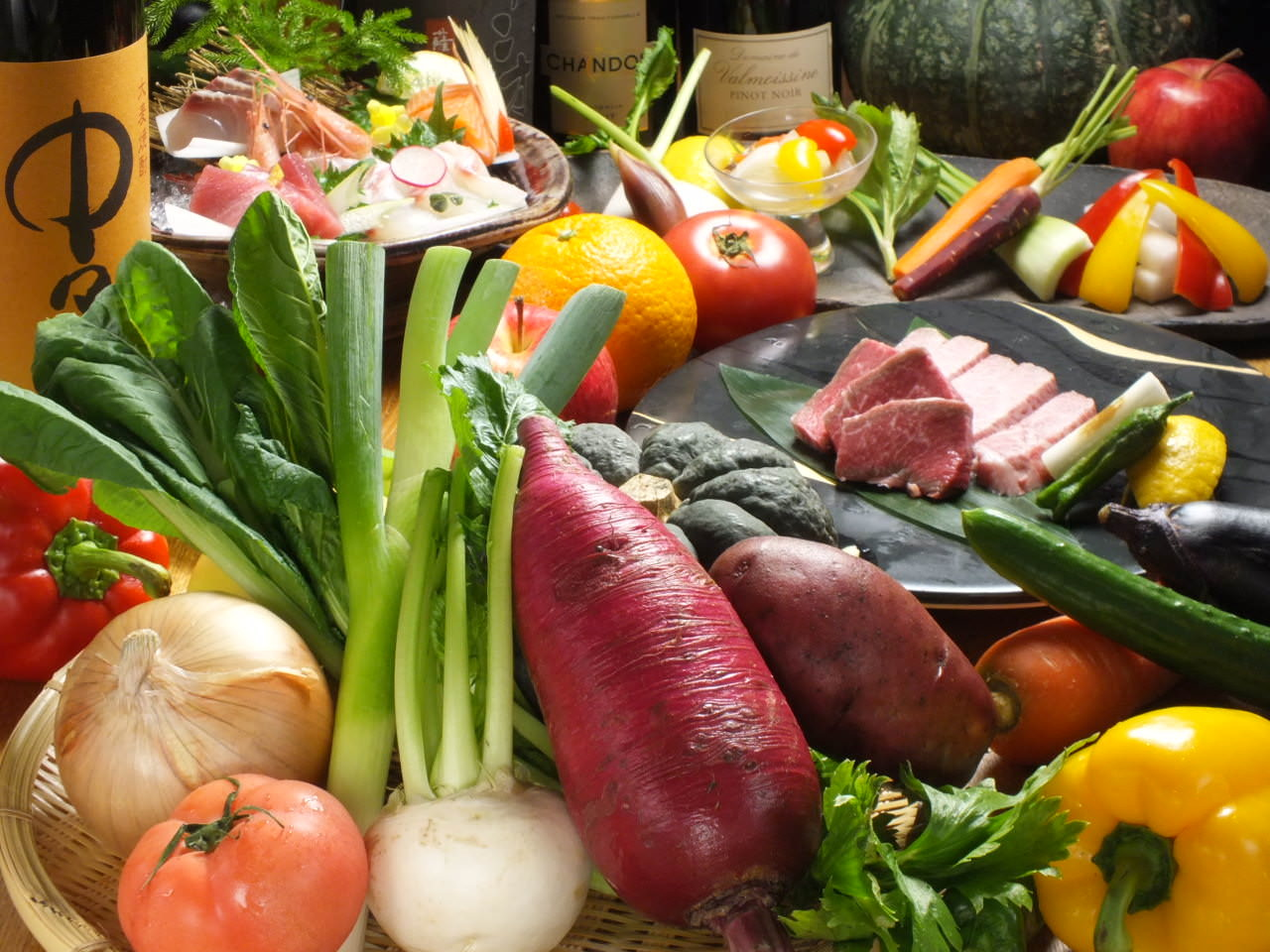 ブランド京野菜をはじめ旬素材に舌鼓