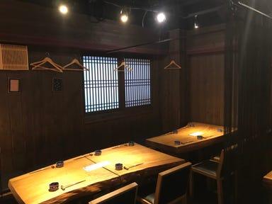 京風もんと熟成肉 文蔵 心斎橋店 店内の画像