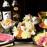 2時間飲み放題付!A5黒毛和牛サーロインステーキ付き☆わらしべ大名コース!!