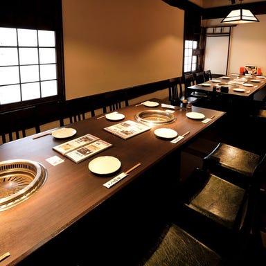 熟成焼肉 八億円  店内の画像