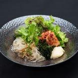 韓国冷麺のサラダ