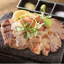 黒豚炙り 西郷盛り(黒豚二種+黒豚ソーセージ)