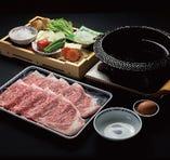 【鍋物】すき焼きコース