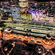 迫力満点の景色~36階からの眺望~