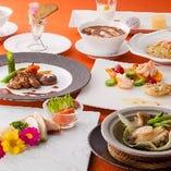 本格中華のディナーコースをご賞味ください
