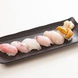 おまかせ握り寿司6カン