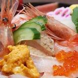 【看板メニュー】 海鮮えにし丼