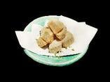 人気の一品京芋のからあげ