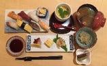 この内容で、、寿司ランチ880円!!