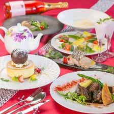 鯛とアサリのヴァプール×クラシタロースト×鮮魚のカルパッチョ『ミニョンコース』ホールケーキ無料変更OK