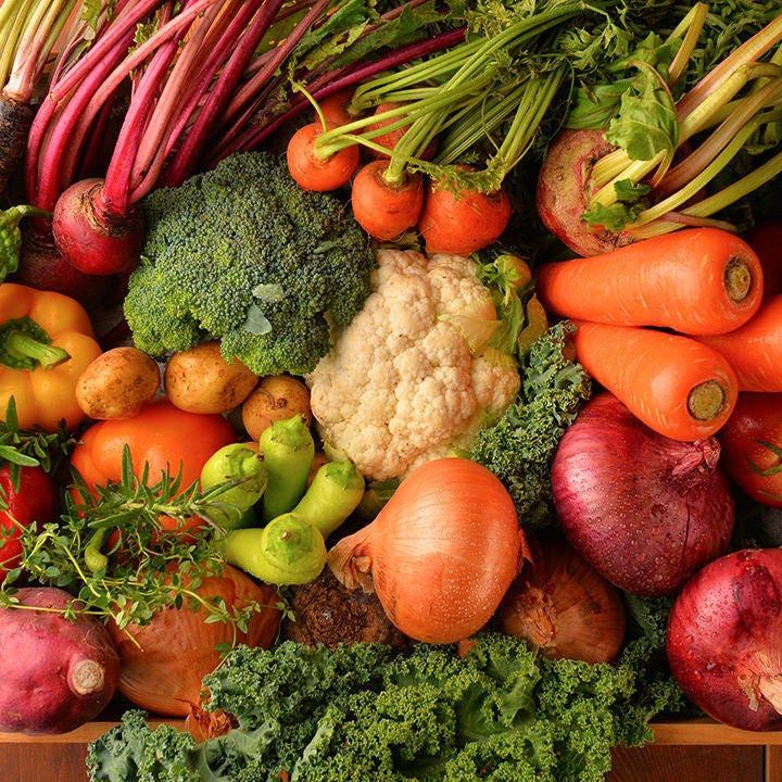 地元相模原産の新鮮野菜を使用