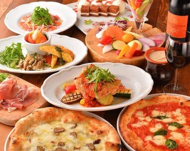 Trattoria e Pizzeria Santo Fuego  コースの画像