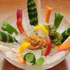 生野菜のバリバリ