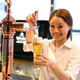 ハイネケンは、日本のビールと比べてスッキリと飲みやすい