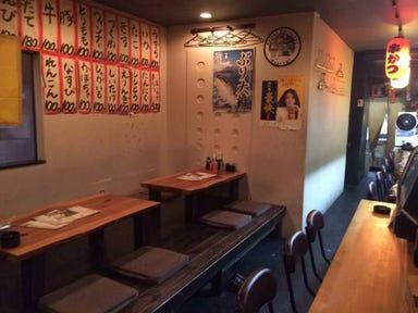 串かつ・海鮮 居酒屋 串まる 茨木 店内の画像