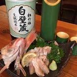 お刺身・寿司・串カツなど種類豊富なメニュー!