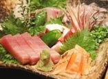 毎日市場から届く魚は絶品! とにかく新鮮です♪