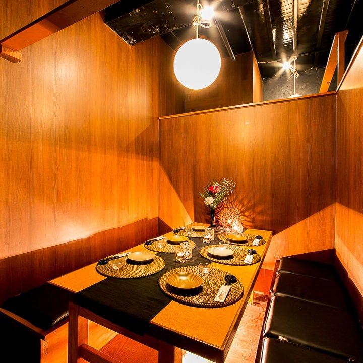 秋葉原での宴会に最適な全席個室空間