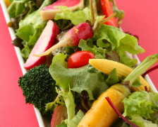 鎌倉有機野菜たっぷりのサラダ