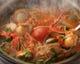 季節限定イタリア風ブイヤベ―ス仕立てのトマト鍋