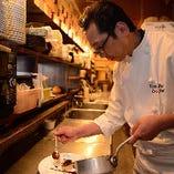 フレンチ一筋30年超。オーナーシェフ・藤井清悟が生み出す、様々な美味をご堪能ください。