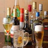 コースは飲み放題追加OK。2時間以上の宴会もご相談ください。
