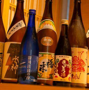 40種以上の日本酒はすべて東北の地酒
