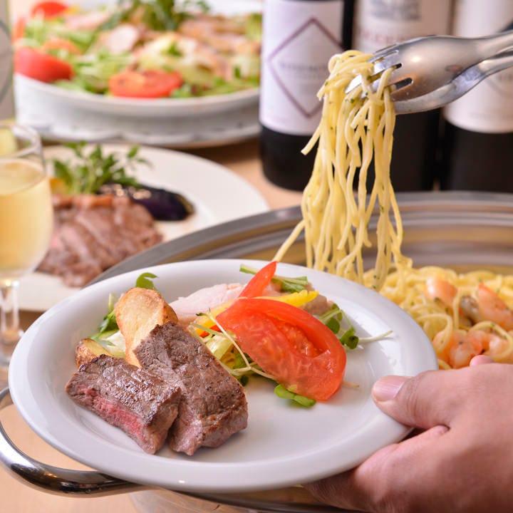 伝統の本格洋風料理をビュッフェスタイルでお楽しみいただけます