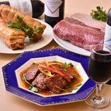 新潟雪室熟成肉を使った特別料理の数々