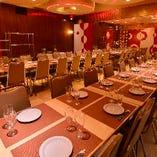 テーブル席個室(25名様~32名様)