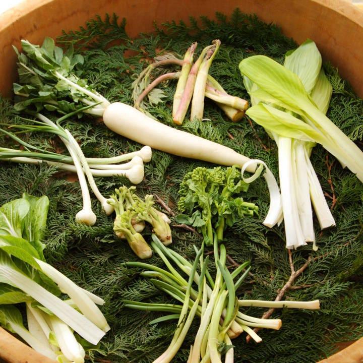 蕎麦を引き立てる江戸東京野菜