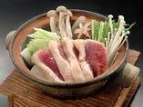 鴨と野菜の小鍋仕立て