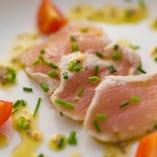 コース料理(例)フランス産鴨肉~いちじくソース~
