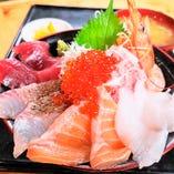大漁海鮮漁師丼