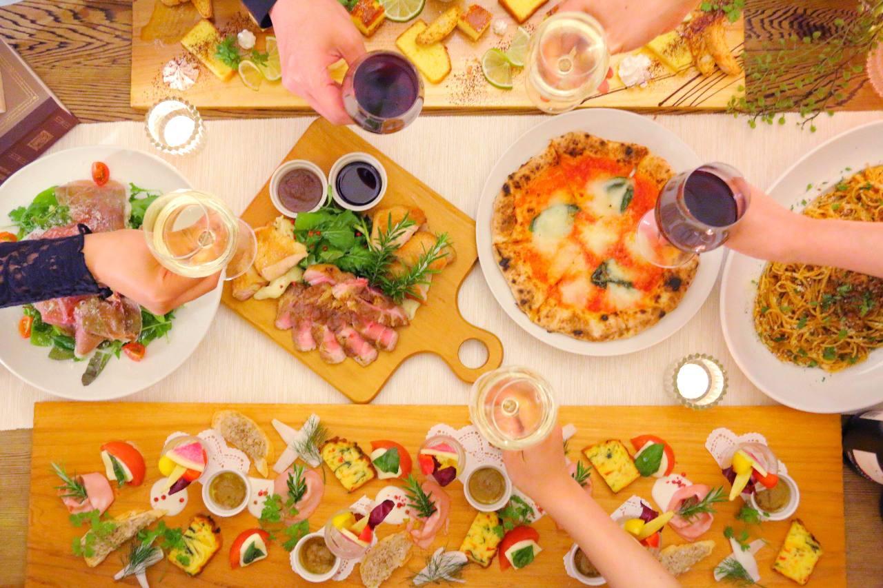 La cucina HANA パーティープラン