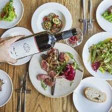 店長お勧めパーティープラン!前菜からメインは本日の魚料理と本日の肉料理・ドルチェまでのフルコース