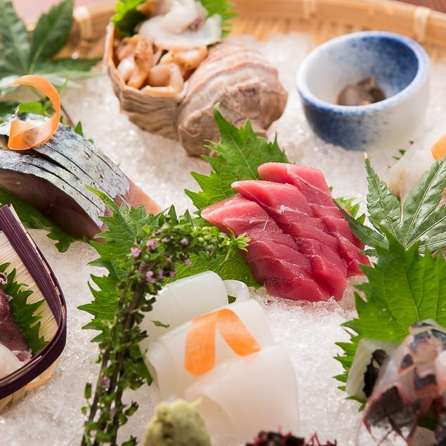 【漁火名物】旬魚 刺身盛り