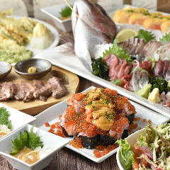 寿司 天ぷら 食べ放題 すしばる 渋谷港