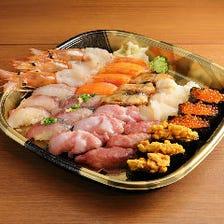 【極】本まぐろ・うに・三大珍味!お寿司64種食べ放題【120分5999円】