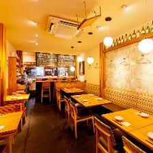 バルスタイルで楽しむ♪本格四川料理