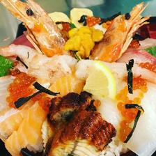 鬼盛り海鮮丼