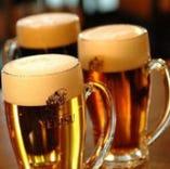 生ビール4種類飲み放題