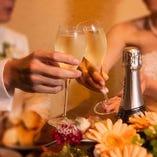 結婚式2次会にピッタリの空間です。