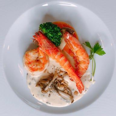 銀座 海老料理&和牛レストラン マダムシュリンプ東京 コースの画像