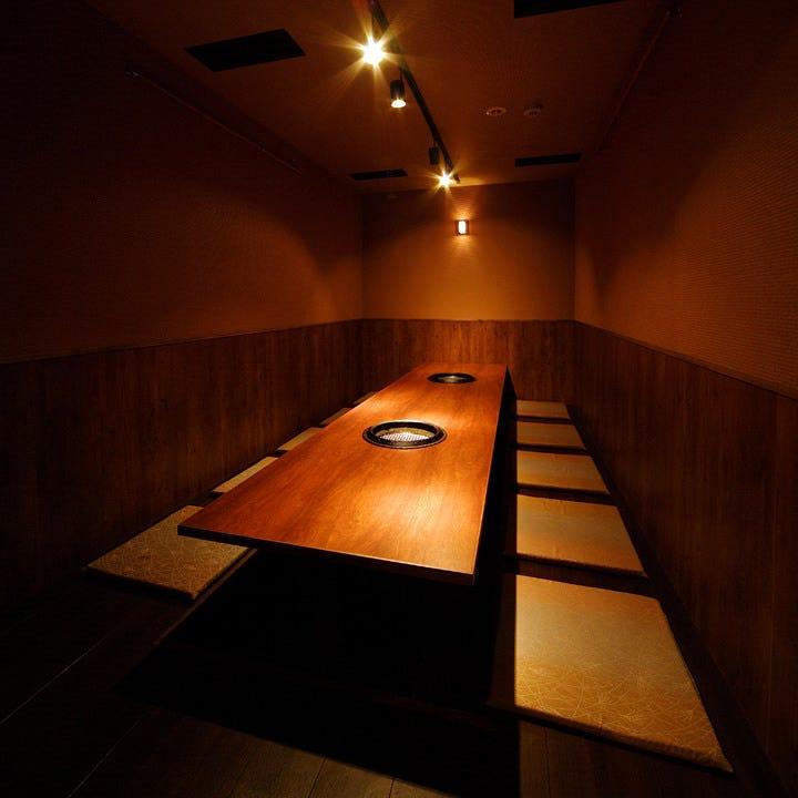 『雰囲気』+『全席完全個室』