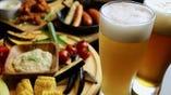 ビール×肉のマリアージュを楽しめる、コース料理をご用意