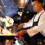 数々の名店での経験を持つ料理長が贈るクリエイティブな創作中華