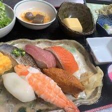 職人が目利きした海鮮を味わうコース