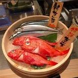 新鮮鮮魚を選べる楽しさがあります。