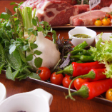 野菜も種類豊富!